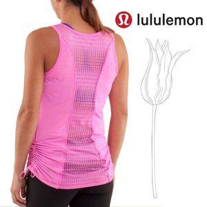 Lululemon Run: Tie And Fly Tank Flash Light